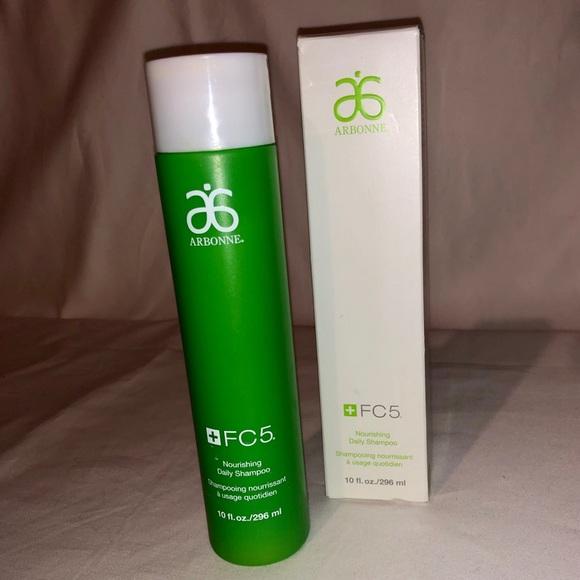Arbonne FC5 Nourishing Daily Shampoo 10 oz  NWT
